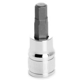 "Performance Tool W38897 Chrome Hex Bit Socket, 3/8"" Drive, 7mm Hex Bit"