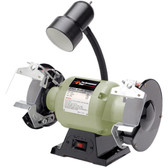"Performance Tool W50001 6"" Bench Grinder W/Worklight"