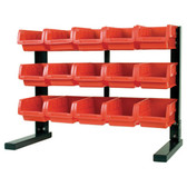 Performance Tool W5186 15 Bin Table Top Storage Rack