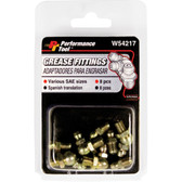 Performance Tool W54217 8 Pc SAE Grease Fitting Asstmn