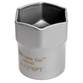 "Performance Tool W83243 1/2 Dr Lock Nut Socket 2-1/2"" Hex"
