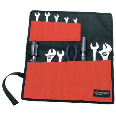 Performance Tool W88990 12 Pocket Roll-Up Tool Pouch