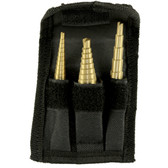 Performance Tool W9003 3Pc Step Drill Set