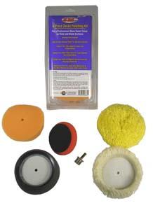Hi-Tech Industries HB3672 Mini Polishing Kit For Cordless Drills