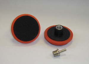 Hi-Tech Industries VP3 Mini Velcro Backing Plate. 3.5 For Sanders And Drills