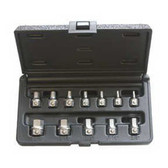 EZ Red HLS1000 SAE Hex Bit Tool Set