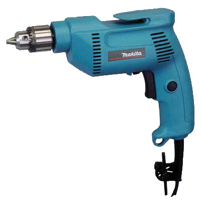 "Makita 6407 3/8"" Reversible Drill 49 Amp, 0-2500 RPM, Variable Speed"
