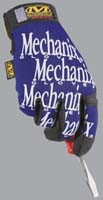 Mechanix Wear MG-03-009 Original Blue Medium Glove