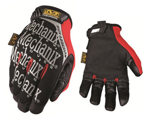 Mechanix Wear MGP-08-010 High Abrasion Finger Tip Original Glove Large