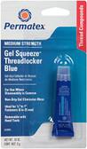 Permatex 24005 Gel Squeeze Thrd Lckr Blu - Each