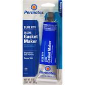 Permatex 80022 Sensor-Safe Blue RTV Silicone Gasket Maker