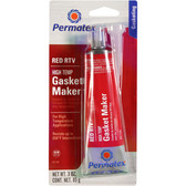 Permatex 81160 High-Temp Red RTV Silicone Gasket Maker - Each