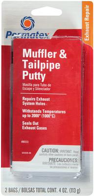 Permatex 80333 Mufflr Tailpipe Putty 4Oz - Each