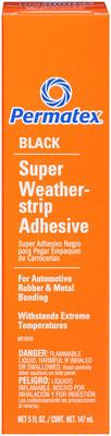 Permatex 81850 Blk Weatherstrip Adhesive - Each