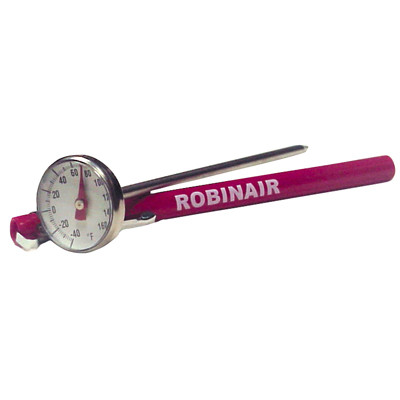 Robinair 10596 Dial Thermometer -40 To 160F