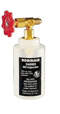 Robinair 34065 Oil Injector For Adding Refrig