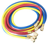 "Robinair 30060 Set Of 3 60"" Hoses, 1/4"" R12"