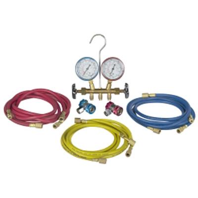 Robinair 48134B R134A And R12 Manifold Kit