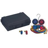 """Robinair 48510 Alum R134A Manifold Hose Kit 72"""""""