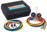 Robinair 44150 Dual R12/134A Brass Manifold Kit