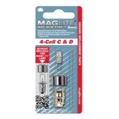Maglite LMXA401 White Star Krypton Bulb, 4 Cell C and D
