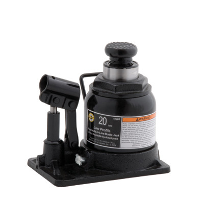 Omega 10208 20 Ton In Line Bottle Jack, Shorty
