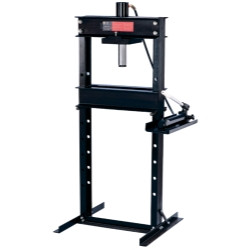 Omega 60253 25 Ton Shop Press With Hand Pump