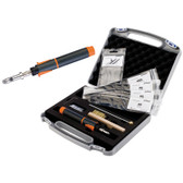Portosol PP75 Plastic Welding Repair Kit, Includes Propieze Iron W/Temp Control, Tip, Rod, Brush And 4 Plastics