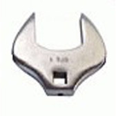 "V8 Tools 79024 Crowfoot Wrench, 1/2"" Drive, 24Mm, Thin Jaws, Fully Polished"