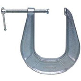 "Wilton 41405 C-Clamp, 0 To 3"" Opening, 2"" Throat Depth, Ductile Iron Frame With Black Oxide Screw"