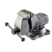 "Wilton 21400 Mechanics Bench Vise, 745, 5"" Jaw Width, 5-1/2"" Jaw Opening, Swivel Base, Pipe Jaws"