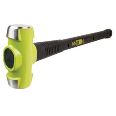 "Wilton 20630 Sledge Hammer, 6 Lb Head, With 30"" Long Unbreakable Steel Core Handle, Rubber Grip"