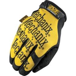 Mechanix Wear MG-01-011 Gloves Orig XL Yellow 1Pr