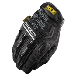 Mechanix Wear MPT-58-010 Large Mpact Glove With Poron Xrd, Black/Gray