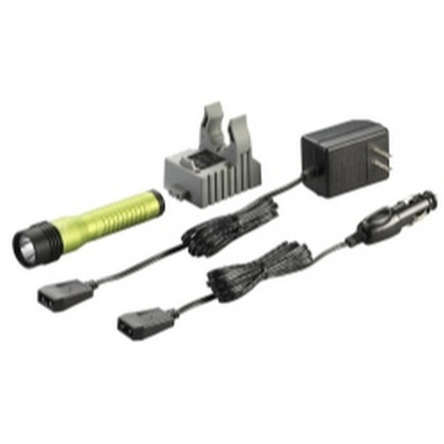 Streamlight 74769 Strion LED HL Rechargeable Flashlight - 120/DC - Lime