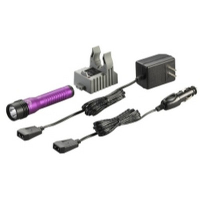 Streamlight 74773 Strion LED HL Rechargeable Flashlight - 120/DC- Purple