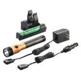 Streamlight 75490 Stinger DS LED HL Rechargeable Flashlight - 120/DC PiggyBack Holder - Orange
