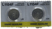 Universal Enterprises AB13 Button Type Battery  2/PK