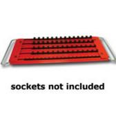 Mechanics Time Saver LASTRAY 5 Row Lock-A-Socket Tray