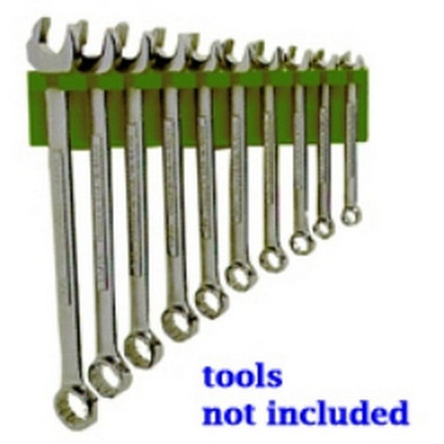 Mechanics Time Saver 686 Dark Green Wrench Holder   10-19mm