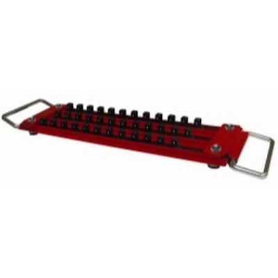"""Mechanics Time Saver LASTRAY50 3 Row 1/2"""" Drive Lock-A-Socket Tray"""