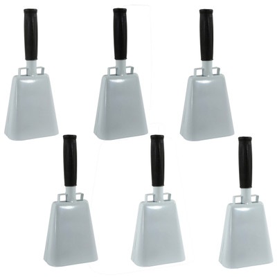 Buffalo Tools COBLSET Customizable 6 Piece 10 Inch Cow Bell Set