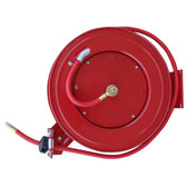 Black Bull AHAR50 50 Foot Retractable Air Hose Reel with Auto Rewind
