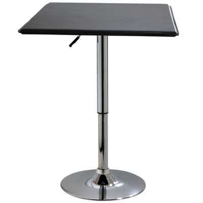 AmeriHome ATABLESQ Square Adjustable Height Table
