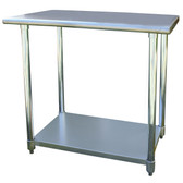 Sportsman Series SSWTABLE36 Stainless Steel Work Table 24 x 36 Inches