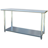 Sportsman Series SSWTABLE60 Stainless Steel Work Table 24 x 60 Inches