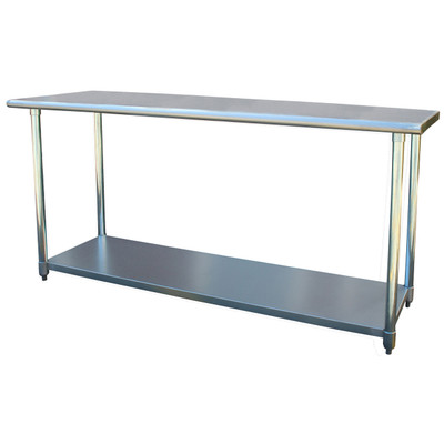 Sportsman Series SSWTABLE72 Stainless Steel Work Table 24 x 72 Inches