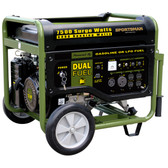 Sportsman Series GEN7500DF 7500 Watt Dual Fuel Generator