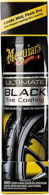 Meguiars G16008 Ultimate Black Tire Coating 8 Oz. Aerosol