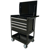 "Extreme Tools EX3204TCBK 32"" Deluxe Tool Cart- Black"